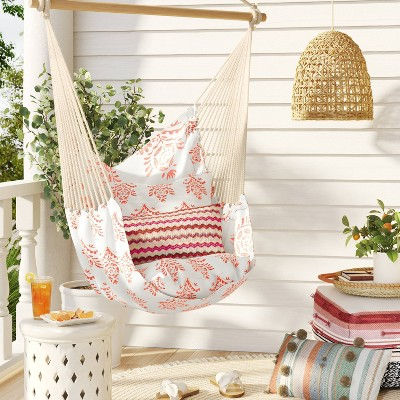 Pillowtop Hammock Chair with Spreader Bar Medallion - Threshold™