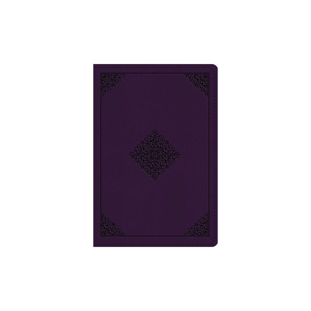 Holy Bible : English Standard Verson, Lavendar, Trutone, Ornament Design - (Paperback)