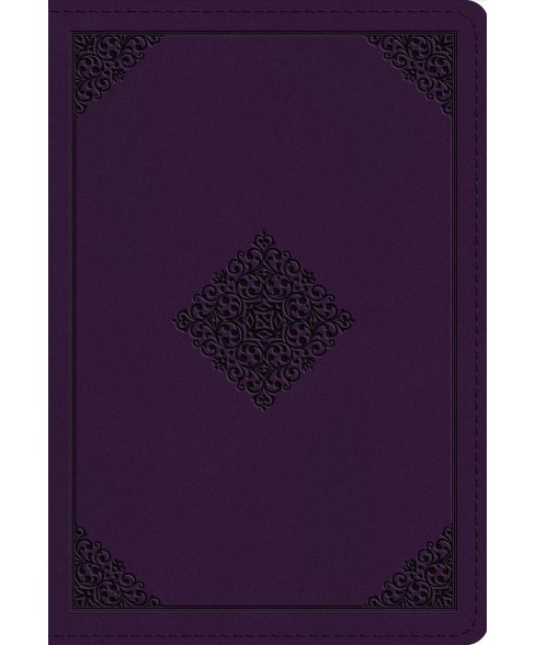 Holy Bible : English Standard Verson, Lavendar, Trutone, Ornament Design -  (Paperback) - image 1 of 1