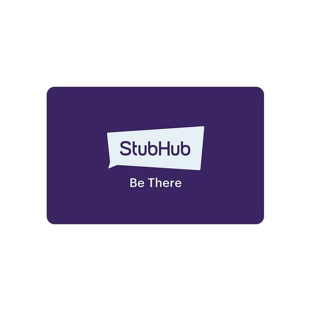 Stubhub $100 (Email Delivery) 1. Gift certificates and electronic  eGift Cards  or physical gift cards (collectively,  Gift Cards ) can only be redeemed on stubhub website or by calling customer service. We may enable redemption via mobile applications or visit stubhub website at a later time; check your Gift Card for details. You must have a StubHub account to redeem Gift Cards. To create an account, visit StubHub. 2. Gift Cards are not redeemable for cash and cannot be returned for a cash refund. Gift Cards are not credit, debit or charge cards. No implied warranties attach to Gift Cards. 3. Upon redemption, the entire balance of a Gift Card is deposited to the recipient's StubHub account. Gift Cards are not reloadable and cannot be associated with multiple StubHub accounts. Gift Cards cannot be redeemed for past purchases. 4. If the cost of an order exceeds the Gift Card amount, the recipient must pay for the balance with a credit or debit card or PayPal account. 5. Treat Gift Cards like cash. Lost, stolen, or damaged Gift Cards will not be replaced except where required by law and only with proof of purchase as required and if the Gift Cards have never been used. 6. Gift Cards and their use on stubhub website are subject to our User Agreement and Privacy Policy.7. StubHub reserves the right to close customer accounts and request alternative forms of payment if a fraudulently obtained Gift Card is redeemed and/or used to make purchases on stubhub website. Invalid or unidentifiable Gift Card numbers will not be redeemed. 8. Purchases using Gift Cards do not count towards StubHub rewards or loyalty programs. 9. StubHub reserves the right to change these terms and condition from time to time in its sole discretion.