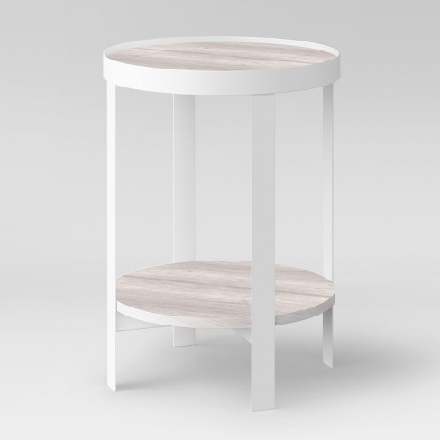 Riehl Metal Round Accent Table Project 62