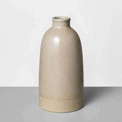 Stoneware Vase Gray - Hearth & Hand™ with Magnolia