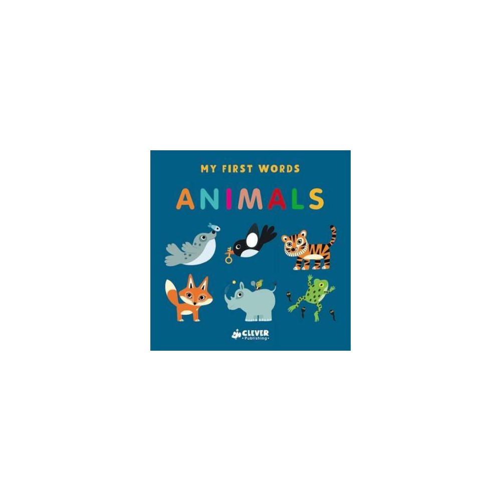 Animals - Reprint (My First Words) by Julie Mercier (Paperback)