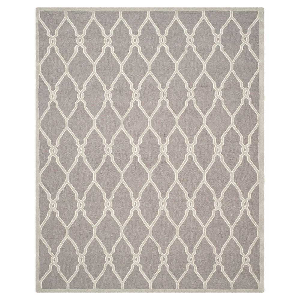 Safavieh Orli Area Rug - Dark Grey / Ivory ( 5' X 8' ), Dark Gray/Ivory