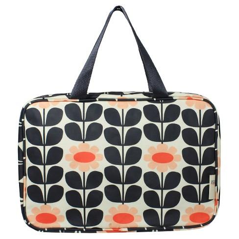 Orla Kiely Tall Flower Weekender Cosmetic Bag