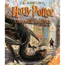 Harry Potter and the Goblet of Fire: The Illustrated Edition - by  J K Rowling (Hardcover)