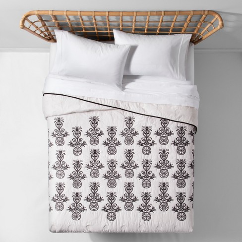 Mallorca Embroidered Ornament Quilt - Opalhouse™ - image 1 of 4