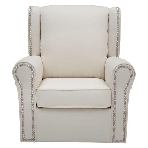 Fabulous Delta Children Middleton Nursery Glider Swivel Rocker Chair Cream Beatyapartments Chair Design Images Beatyapartmentscom