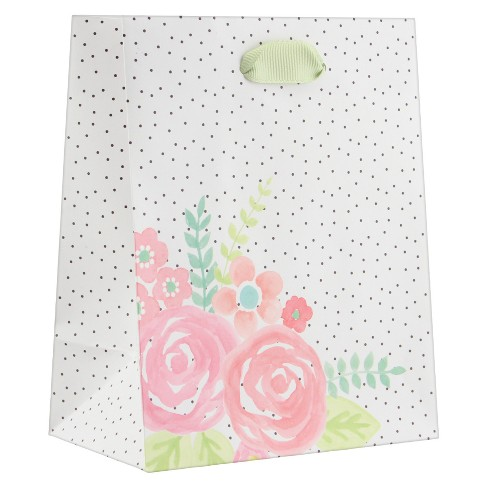 Floral Petite Gift Bag - Spritz™ - image 1 of 2