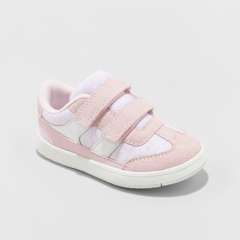 Toddler Girls' leitha Sneakers - Cat & Jack™ Pink Lilac - image 1 of 3