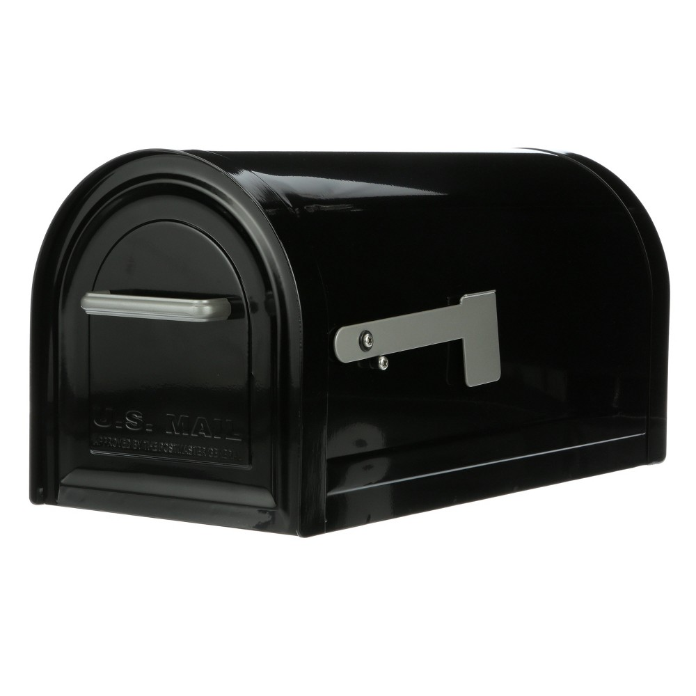 Best Review Reliant Post Mount Mailbox Black Gibraltar