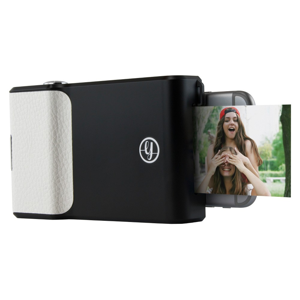 Prynt Instant Print Camera Case for Apple iPhone 6 and 6s - Black (PW200007-BL) Attach this Prynt case to your iPhone and snap a photo. A tiny, built-in printer produces a hard-copy photo, and the Prynt app records a video to go with the image. The Prynt case photo can be scanned with your phone's QR technology to bring the image to life on your screen via that video. Color: Black.