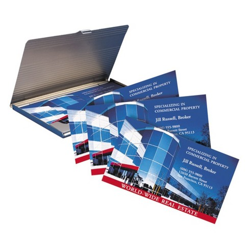 Avery 2 x 3 12 laser print to the edge two sided business cards avery 2 x 3 12 laser print to the edge two sided business cards white 160 per pack target accmission Choice Image