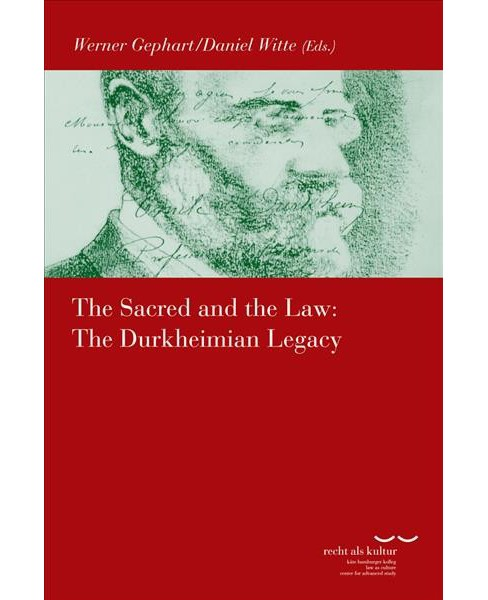 Sacred and the Law : The Durkheimian Legacy -  (Paperback) - image 1 of 1