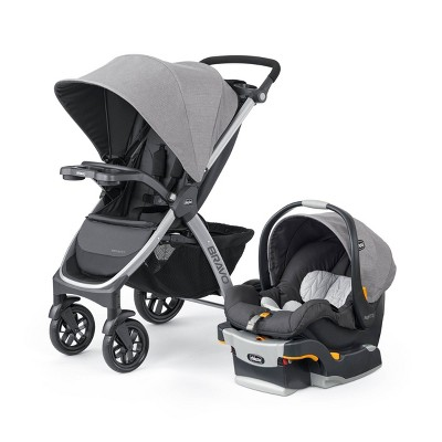 Chicco Bravo 3-in-1 Quick Fold Travel System