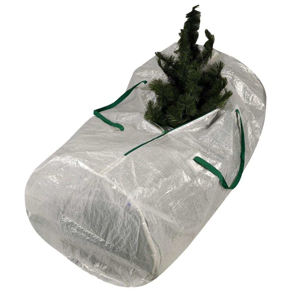 Household Essentials Artificial 7' Christmas Tree Bag, White