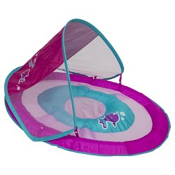 Baby Spring Float Sun Canopy - Pink Fish