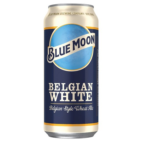 Blue Moon® Belgian White Ale - 4pk / 16oz Cans - image 1 of 1