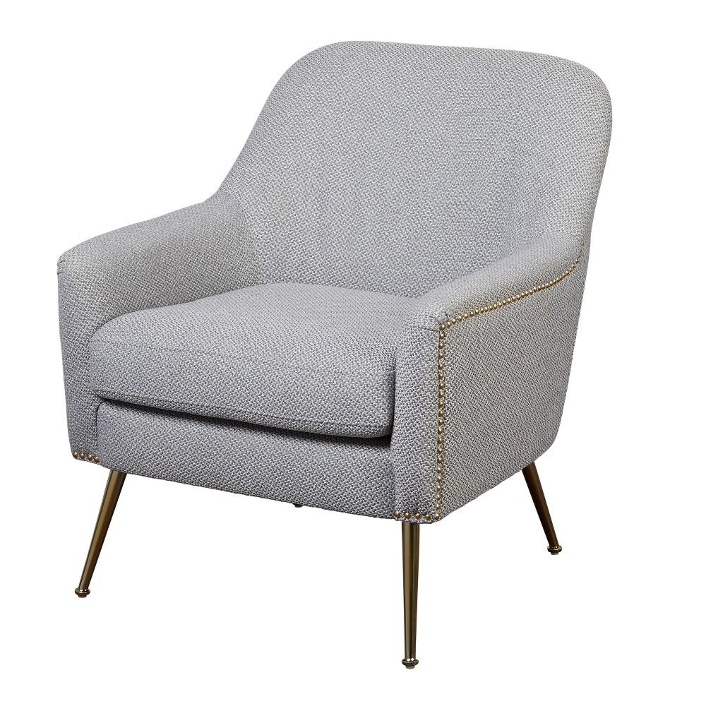 Vita Chair Textured Gray - Lifestorey, Iron Gray