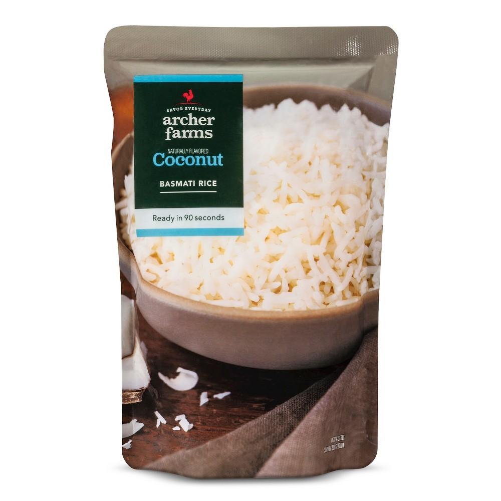 Coconut Basmati Rice 8.8oz - Archer Farms