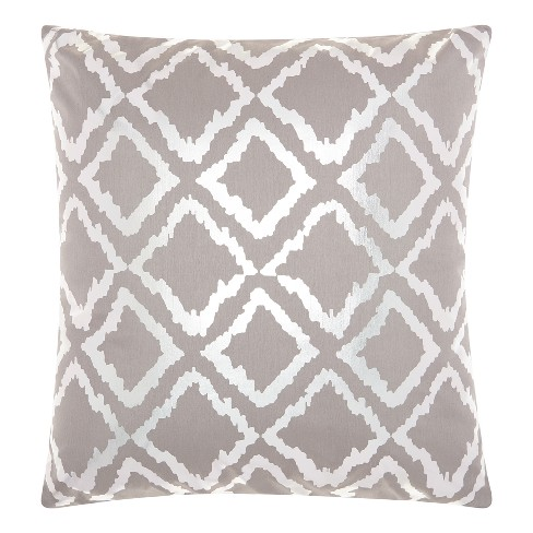 Silver Gray Quatrefoil Rugs - Mina Victory - image 1 of 2