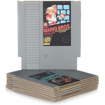 Paladone Products Ltd. Nintendo NES Cartridge Drink Coasters | Set of 8