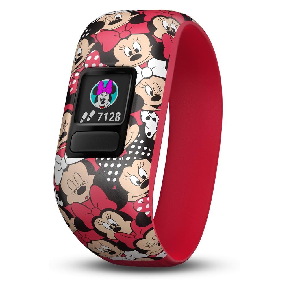 Garmin vivofit jr. Accessory Band - Disney Minnie Mouse (Stretchy), Multi-Colored