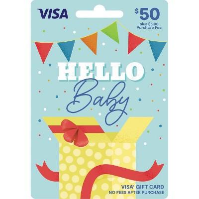 Visa New Baby Gift Card - $50 + $5 Fee