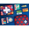 Band-Aid Build Your Own First Aid Kit Bag - Red - image 2 of 4