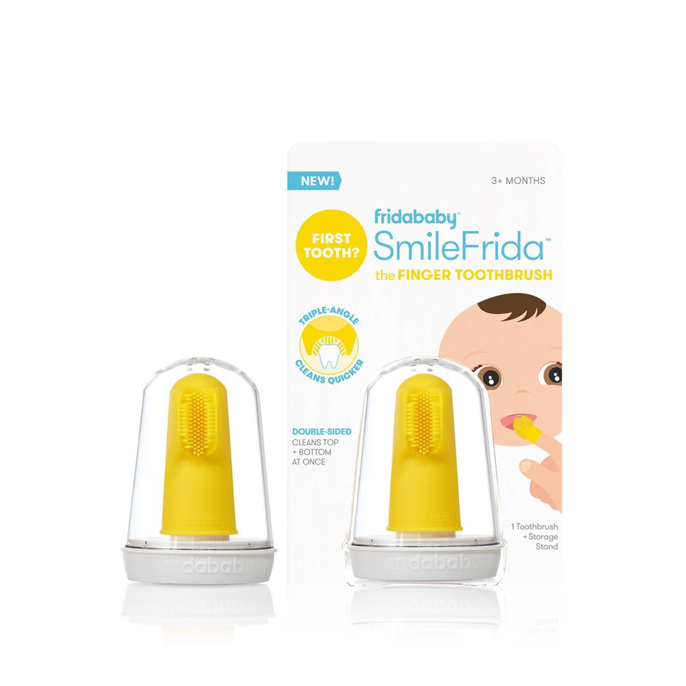 Image of Fridababy SmileFrida Fingerbrush Manual Toothbrush