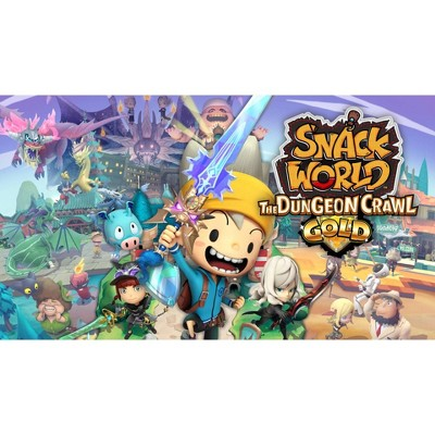 Snack World: The Dungeon Crawl Gold - Nintendo Switch (Digital)