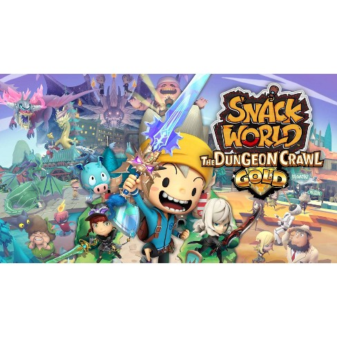 Snack World: The Dungeon Crawl Gold - Nintendo Switch (Digital) - image 1 of 4