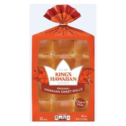 King's Hawaiian Original Hawaiian Sweet Rolls - 12oz/12ct - image 1 of 1