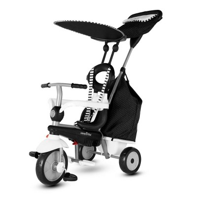 smarTrike Vanilla Plus Kids' Trike - Black/White