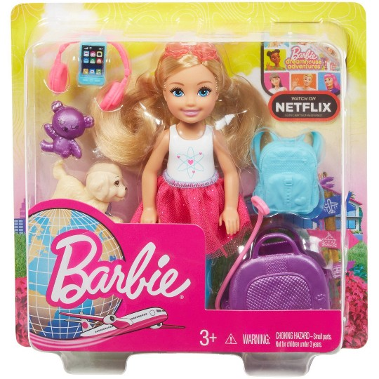 Barbie Chelsea Travel Doll image number null