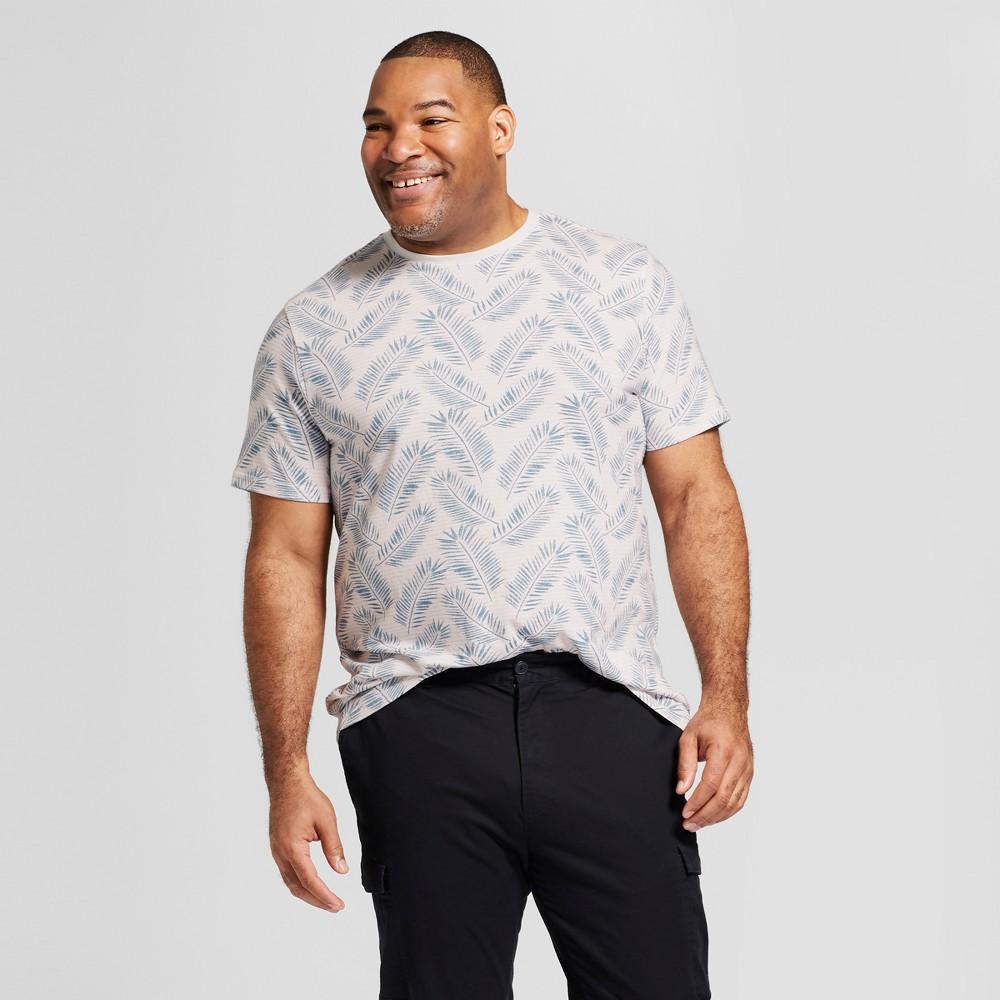 Men's Big & Tall Standard Fit Short Sleeve Crew Neck T-Shirt - Goodfellow & Co Pink Dust 2XBT