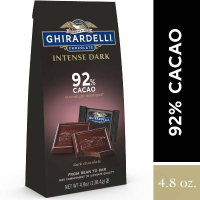 Ghirardelli Intense Dark Moonlight Mystique 92% Cacao Dark Chocolate Squares - 4.8oz