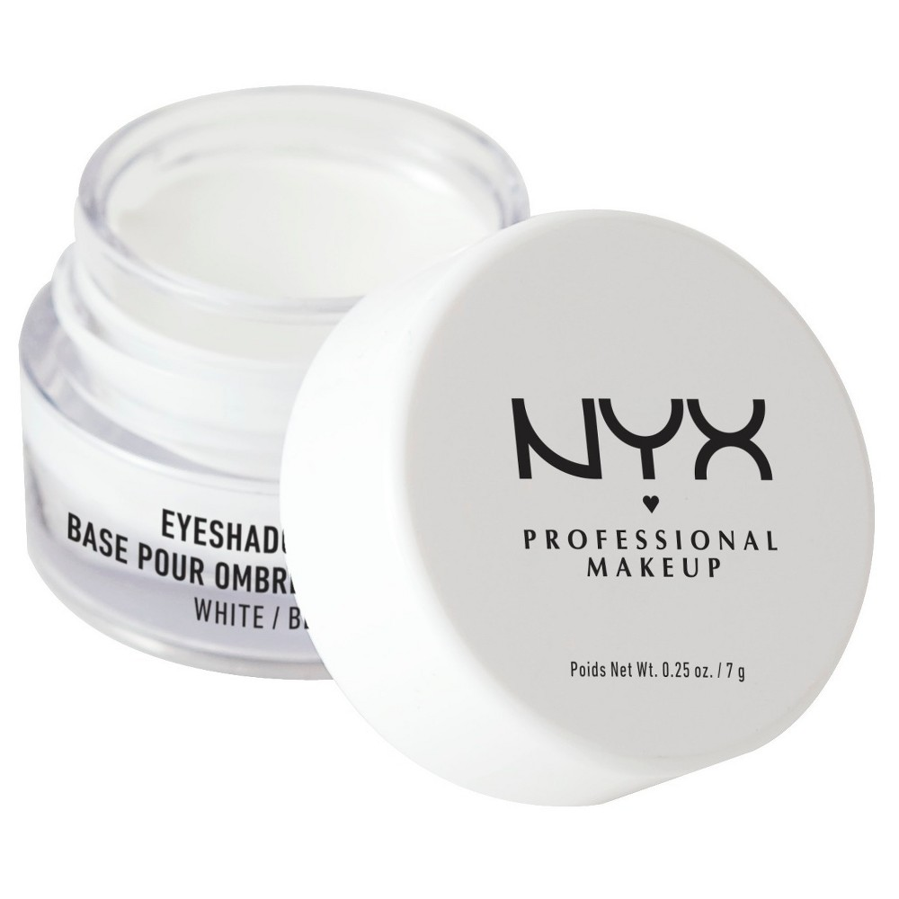 Nyx Professional Makeup Eye Shadow Base White - 0.25oz