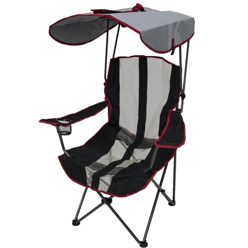 Kelsyus Premium Foldable Outdoor Lawn Camping Chair w/Cup Holder and Canopy - image 1 of 6