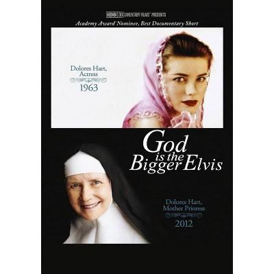 God is the Bigger Elvis (DVD)(2012)