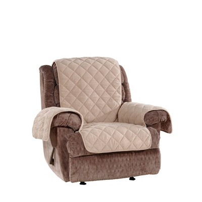 Plush Comfort Recliner Slipcover - Sure Fit