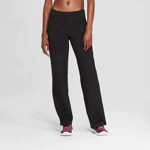 Women's Mid-Rise Cotton Pants - C9 Champion® - image 1 of 2