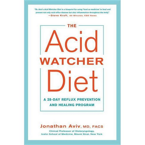 The Acid Watcher Diet - by  Jonathan Aviv (Paperback) - image 1 of 1