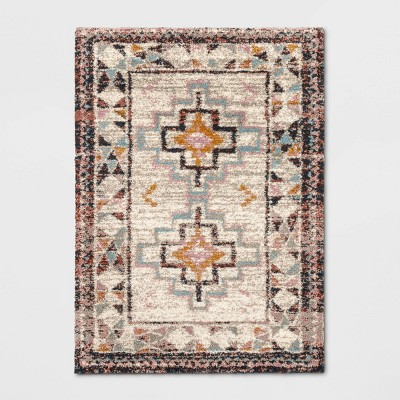 5'X7' Indoor Geometric Shag Woven Area Rug - Opalhouse™