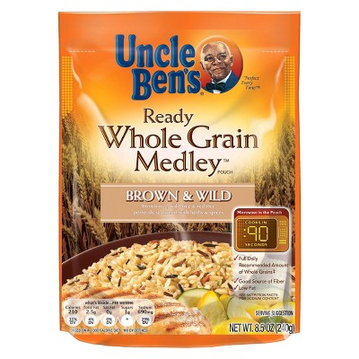 Rice: Uncle Ben's Ready Whole Grain Medley