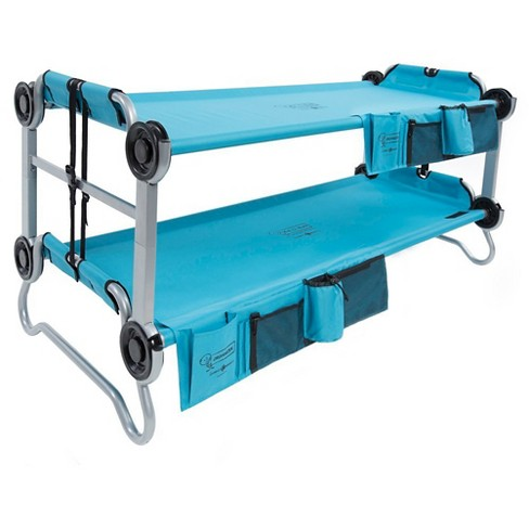Kid-O-Bunk with Organizers - Teal - image 1 of 7