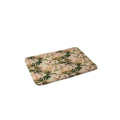 Marta Barragan Camarasa Flowering Bloom Bath Mat Pink - Deny Designs