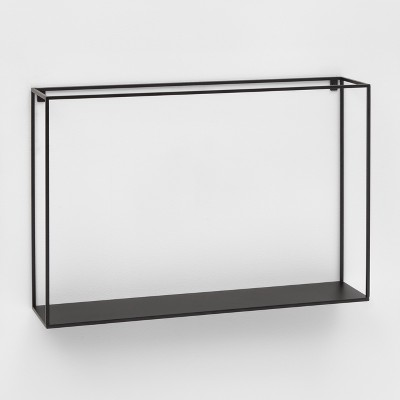 Metal Wall Shelf Black - Project 62™