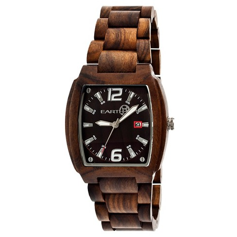 EARTH Men's Wristwatch Brown - image 1 of 3