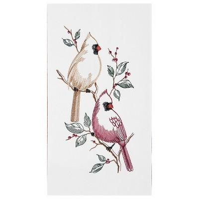 C&F Home Cardinals Flour Sack Embroidered Cotton Kitchen Towel